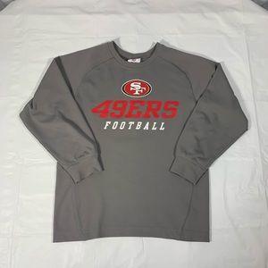 49ers NFL Boys Long Sleeve